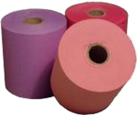 Hydrofix colored paper rolls for laundries 38 x 70 x 12 mm