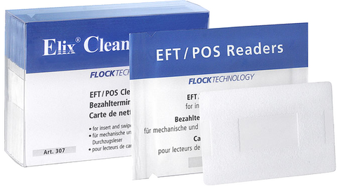 Cleaning cards for EFT/POS & retail