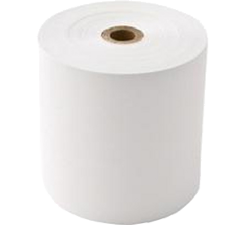 80 mm thermal Linerless (Liner-free) labels rolls