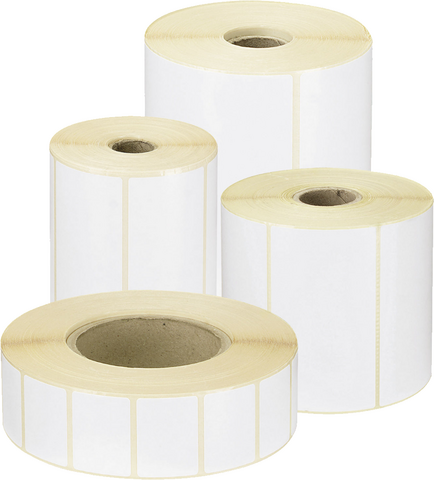 34 x 17 mm direct thermal labels rolls