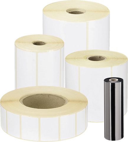 60 x 40 mm thermal transfer labels rolls